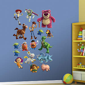 Toy Story 3 Collection Fathead Wall Decal